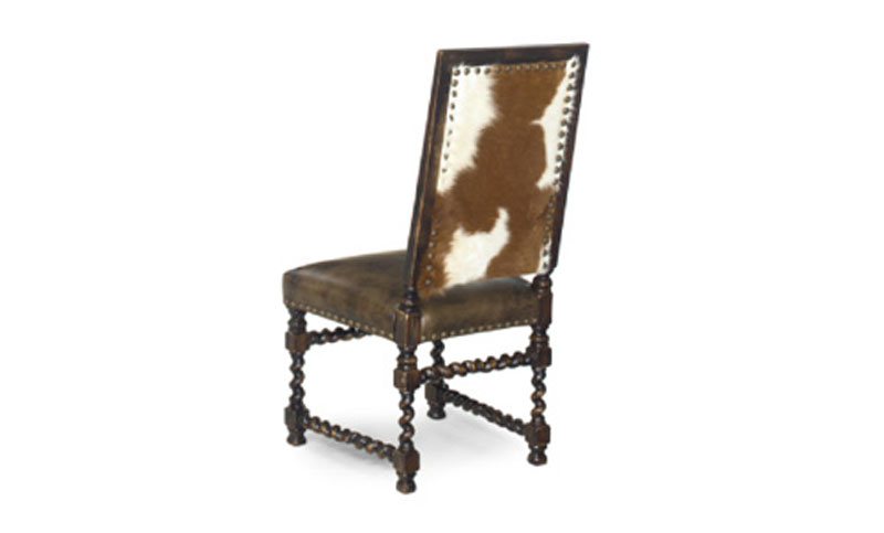 J. Neal Barley Twist Side Chair 592