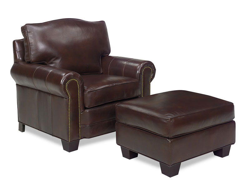 5191 Jackson Chair and 5190 Jackson Ottoman