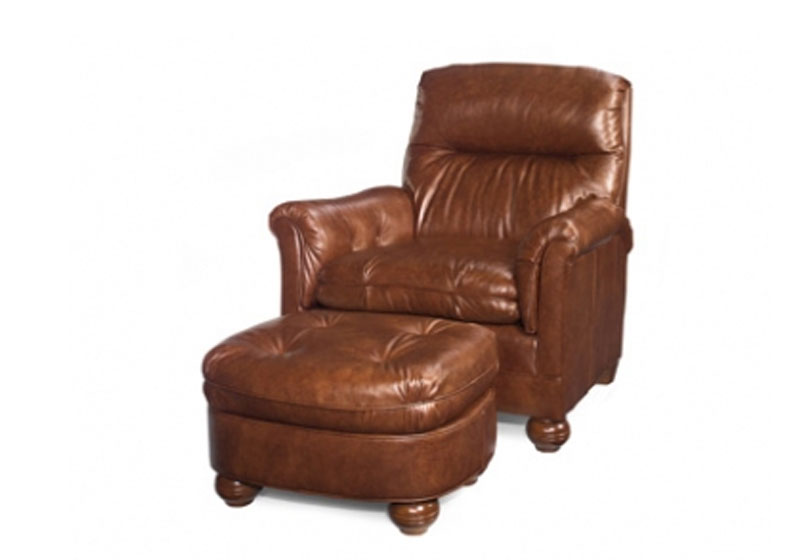 83  Bishop Varitilt Chair and 83-O Bishop Ottoman