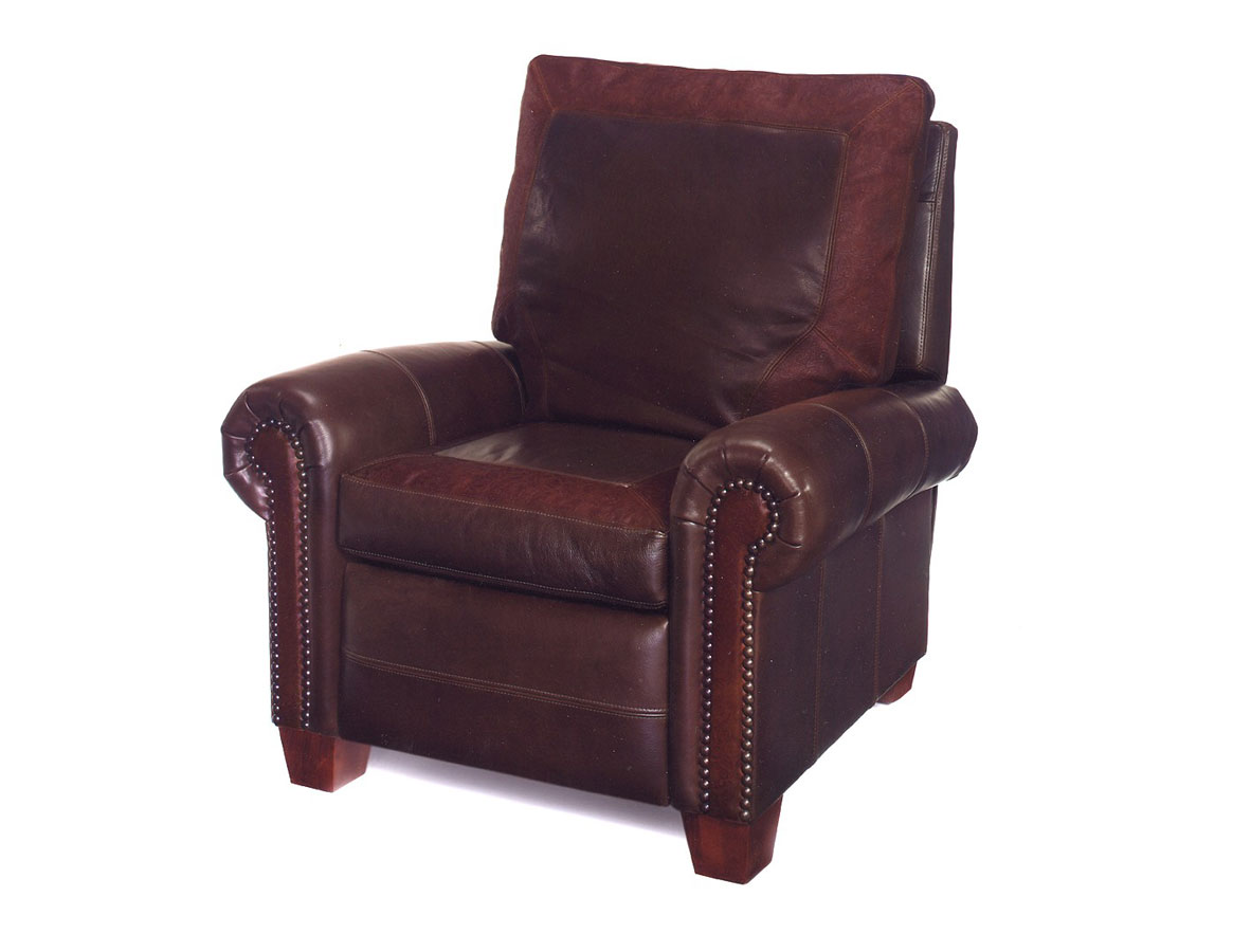 93-SP Wyoming Recliner with Windowpane Piecing