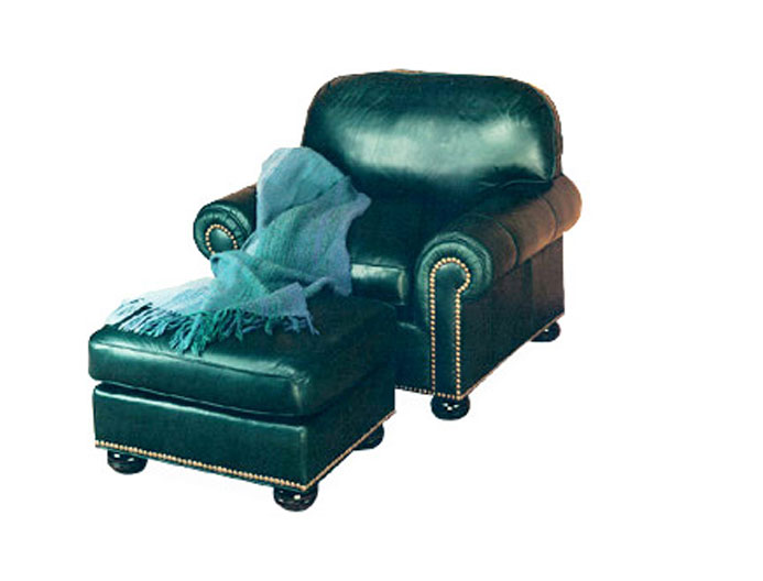 971 Wexford Lounge Chair and 970 Ottoman