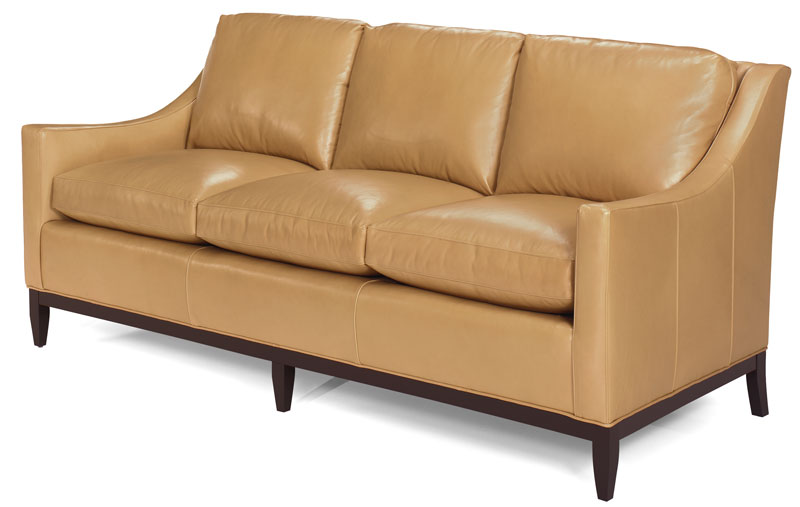 Quincy Sofa 2214 with Wood Base