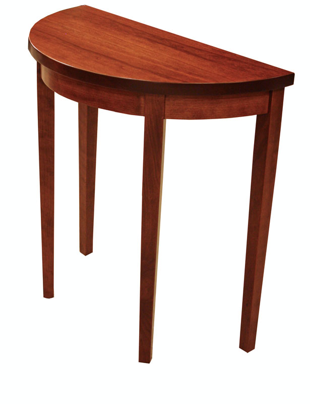 Shaker Demi Lune Hall Table