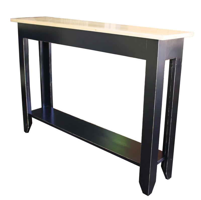 Upscale Primitive Sofa Table Ohio Hardwood Furniture