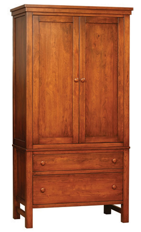 Cabin Creek 2 Piece Armoire