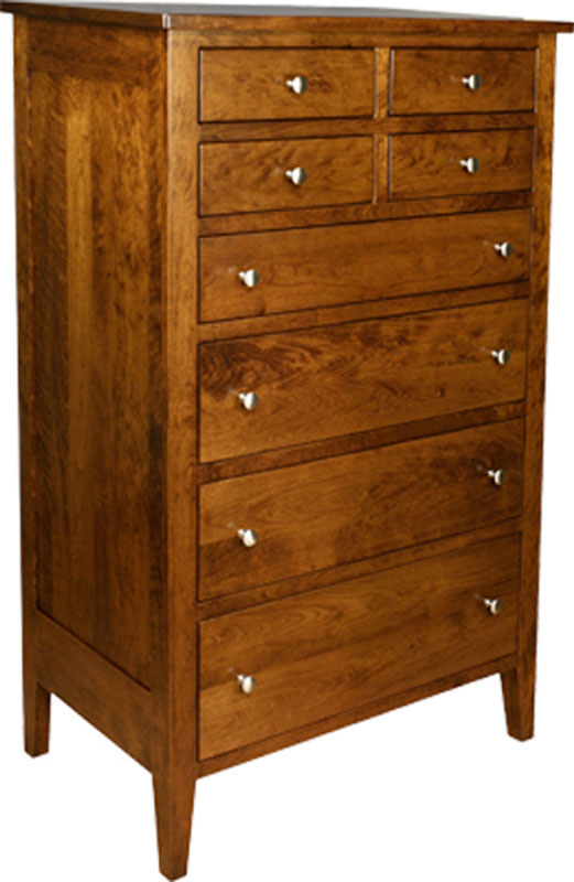 Chelsea 8 Drawer Hi-Boy Dresser