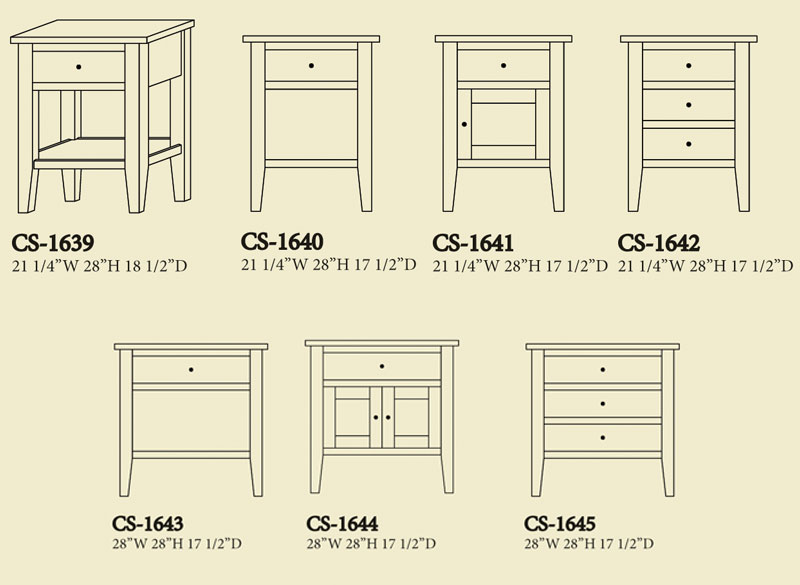 Chelsea Nightstands