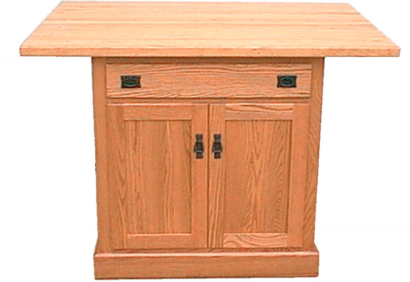 Traditional Raised Panel Island 71