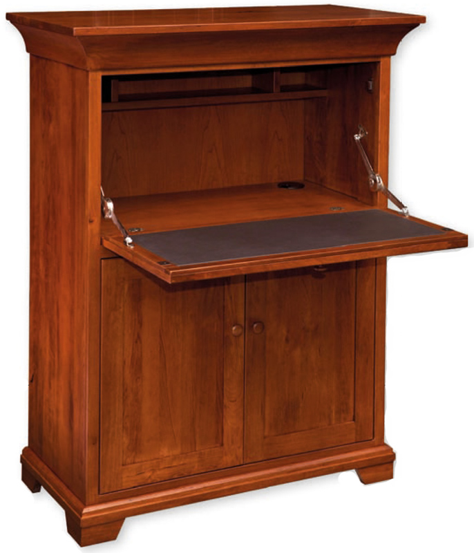 Small Drop Front Desk Findlay Ohio Hardwood Furniture