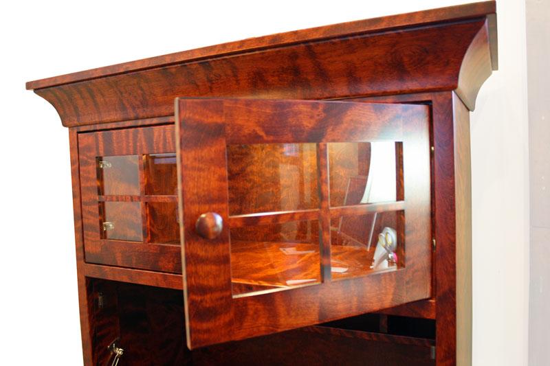 Findlay Drop Front Desk 5250 In Flaming Birch