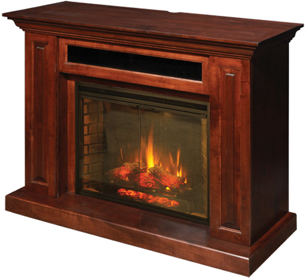 Hiland Fireplace and Entertainment Center