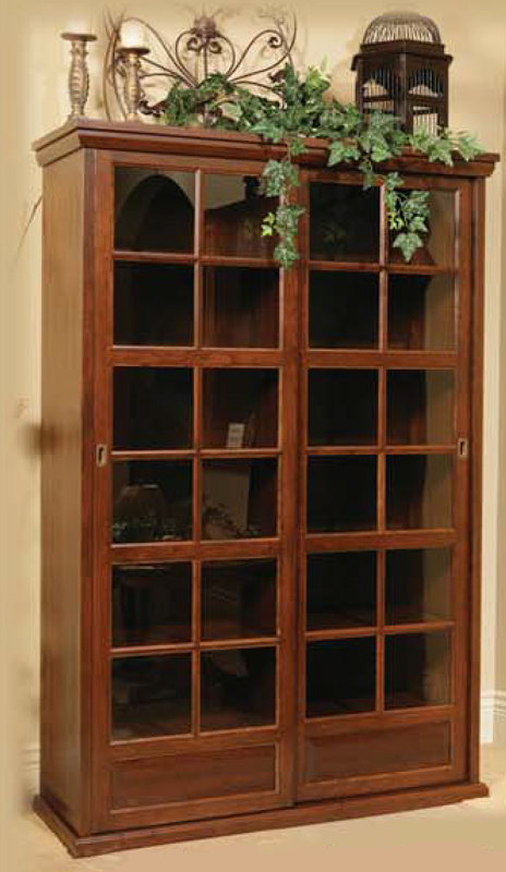 Cheswyke Sliding Door Cabinet Display Case (WYC 78)