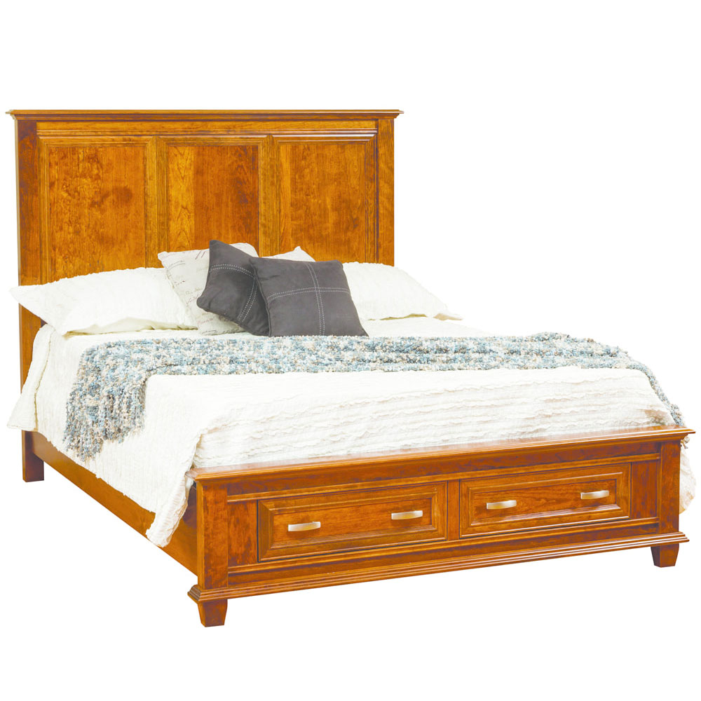Rosedale Bed with Footboard Storage