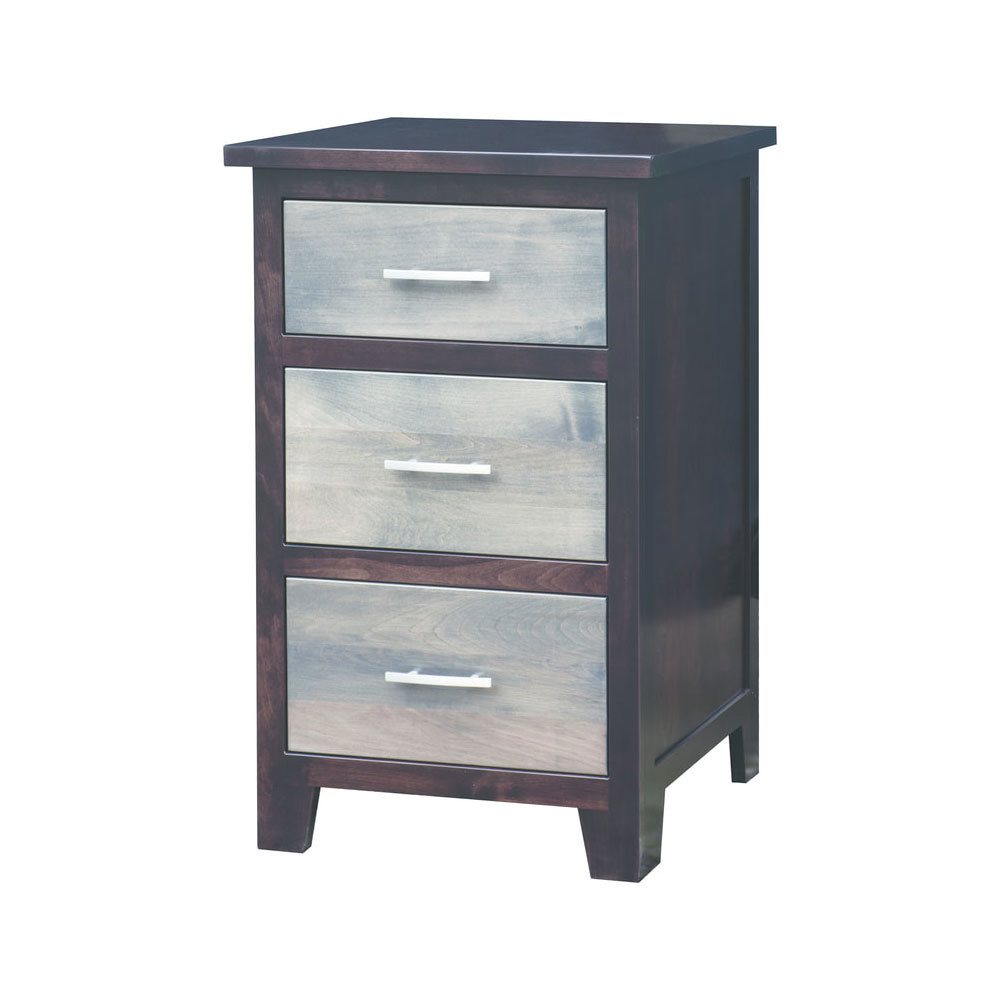 Urban Cottage 3 Drawer Night Stand