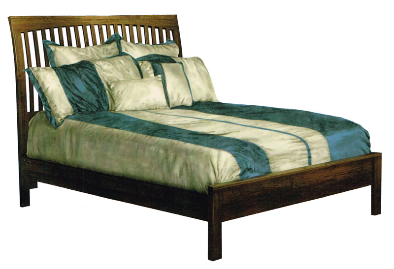 Bentville Bed with Low Footboard
