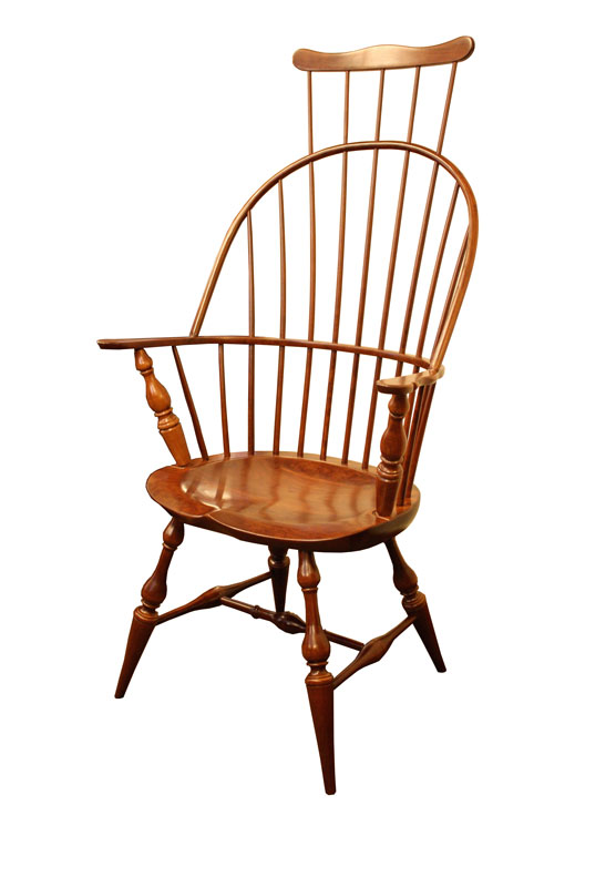 Windsor Arm bback Chair Ohio Hardwood Furniture