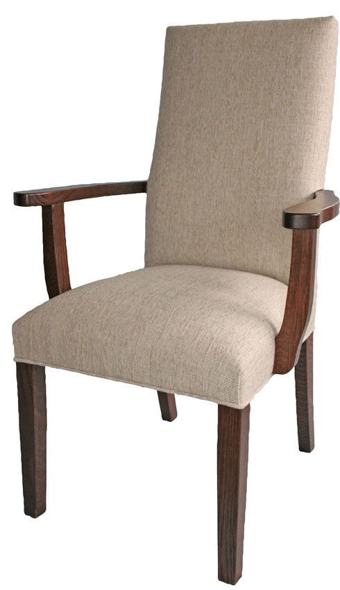 Hudson Upholstered Arm Chair