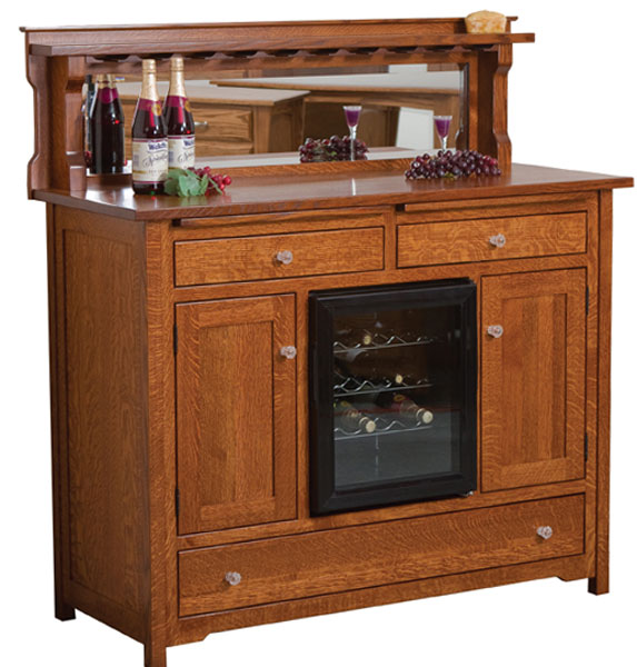 Bonzer Wine Buffet Ohio Hardwood Upholstered Furniture