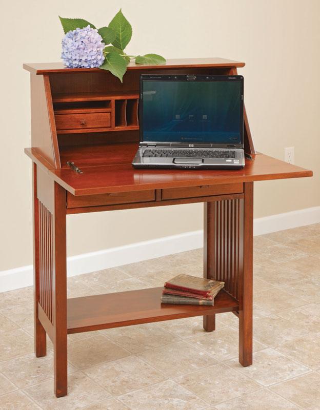 Mission Writing Desk ~ Mission writing desk ohio hardwood furniture