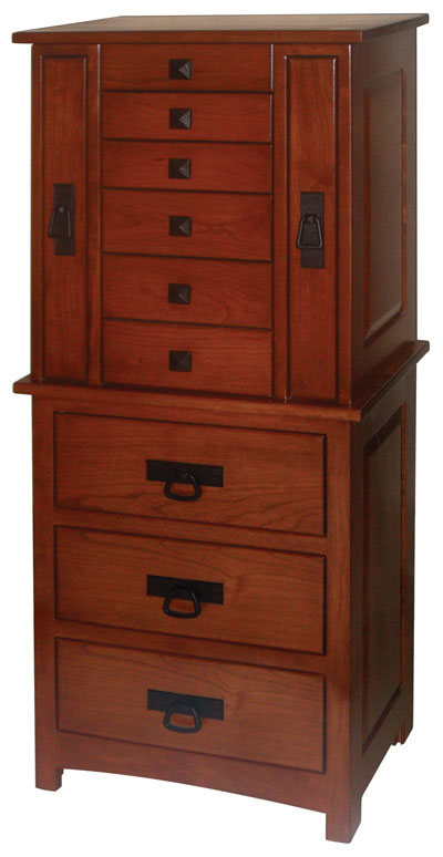 Mission Jewelry Armoire Ohio Hardwood Furniture