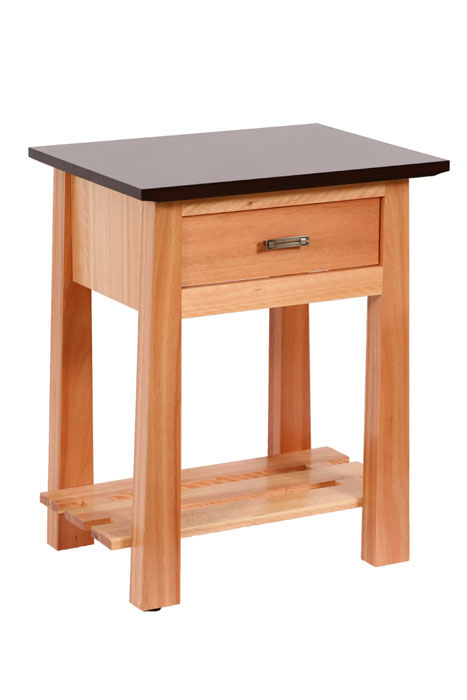 Olbrich Gardens 1 Drawer Nightstand