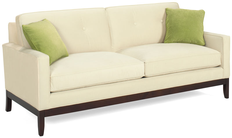 Captivating Reese Sofa 9200 81 With An Heirloom Finish And Basin Oyster Fabric. Throw  Pillows Are Montego Apple Fabric.