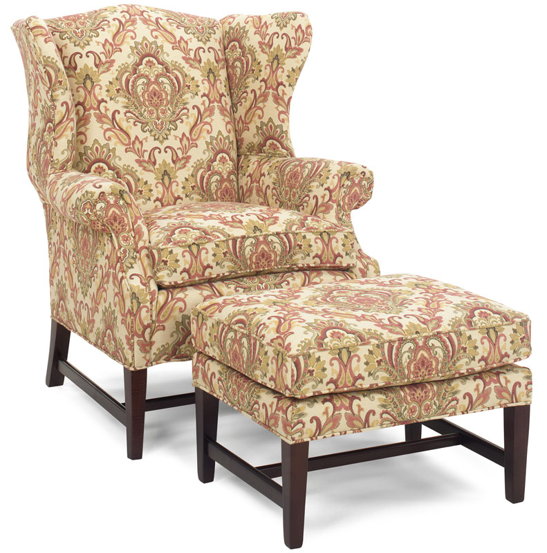 Riverdale Chair 325 and Ottoman 323