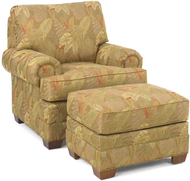 Winston Chair 9515 and Ottoman 9513