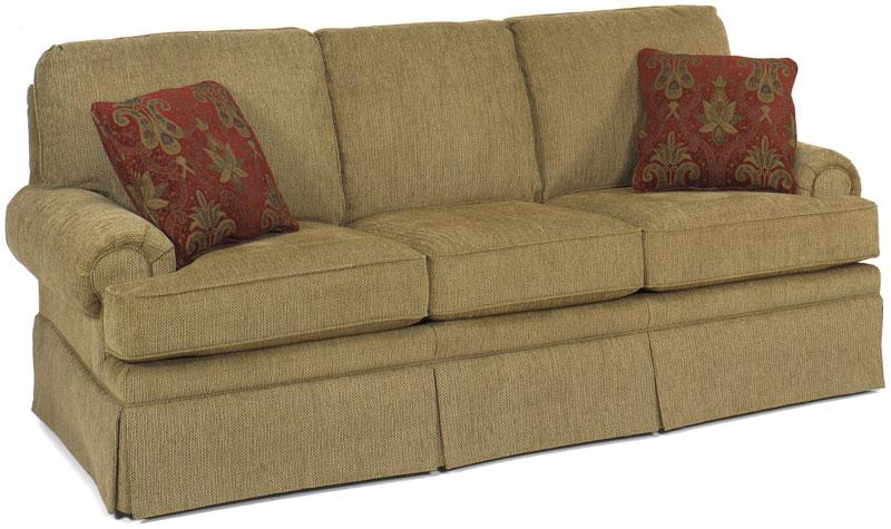 Winston Sofa 9500 90 In Custom Wheat Fabric With Throw Pillows In Farallon  Passion Fabric