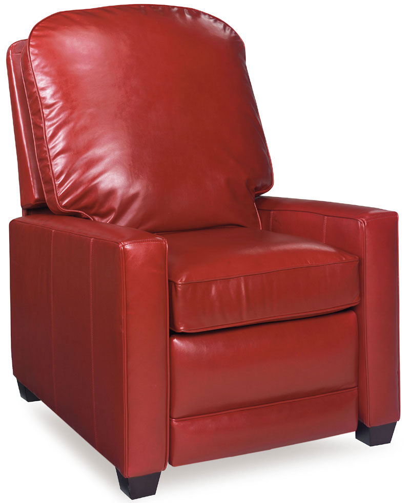 Dalton Recliner 24717LE in an Heirloom Finish and Provost Red Leather  sc 1 st  Ohio Hardwood Furniture & Dalton Recliner 24717 - Ohio Hardwood Furniture islam-shia.org