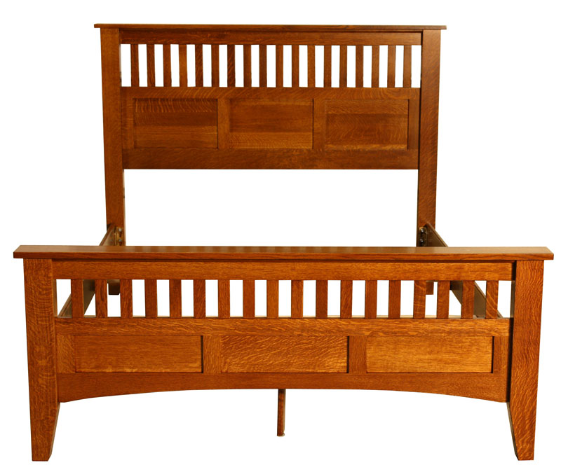 mission antique bed ohio hardwood furniture