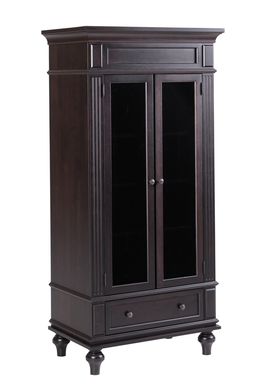 Walton Hills Armoire with Glass in Door