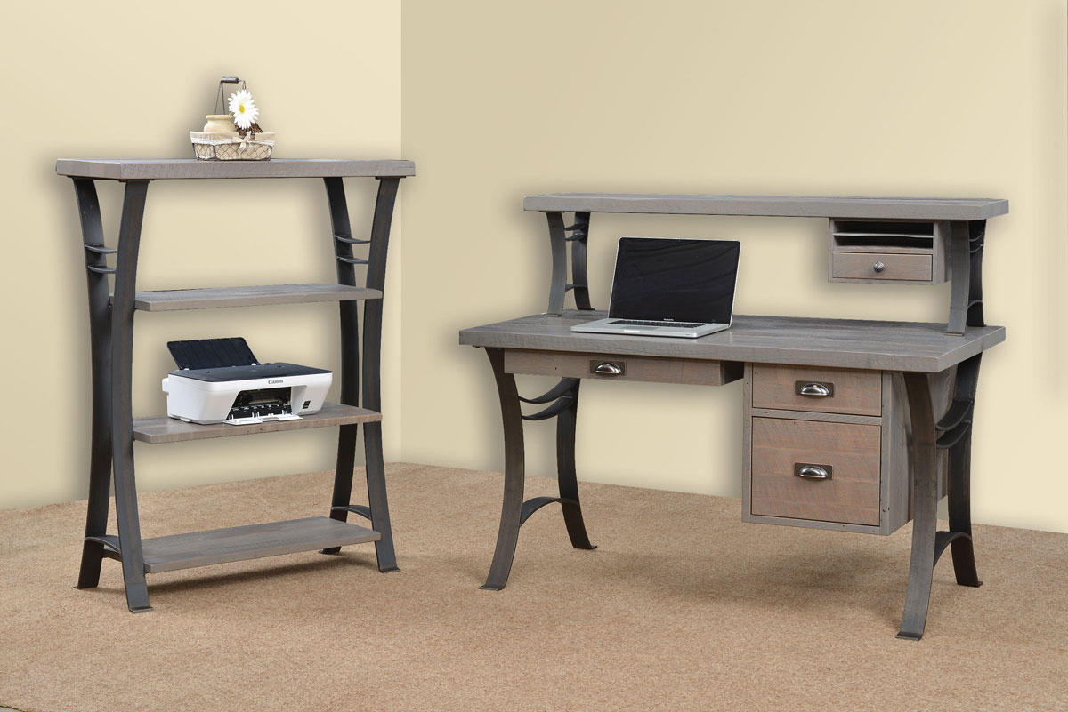 56 inch Euro Writing Desk