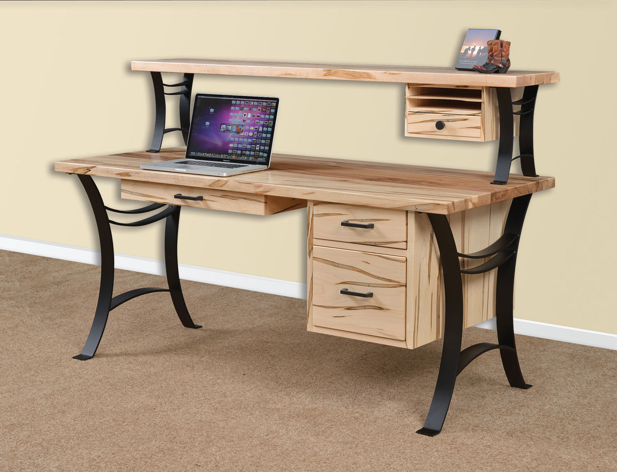 68 inch Euro Writing Desk