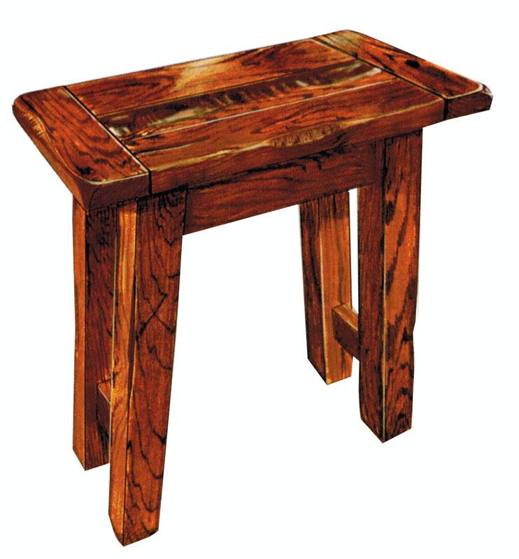 Settler S Small End Table Ohio Hardwood Upholstered Furniture