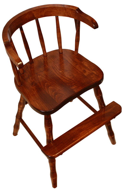 Wrap Around Youth Chair - Ohio Hardwood Furniture