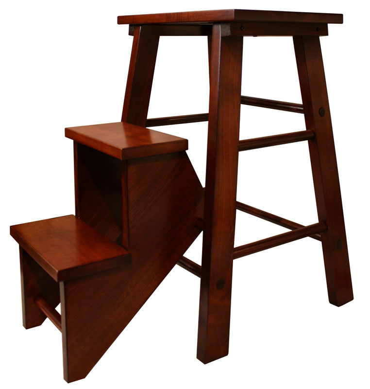 Folding Step Stool Ohio Hardwood Furniture : Main IMage Step stool from www.ohiohardwoodfurniture.com size 762 x 800 jpeg 56kB