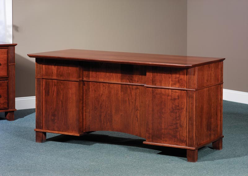 "Back of the 60"" Arlington Executive Desk"