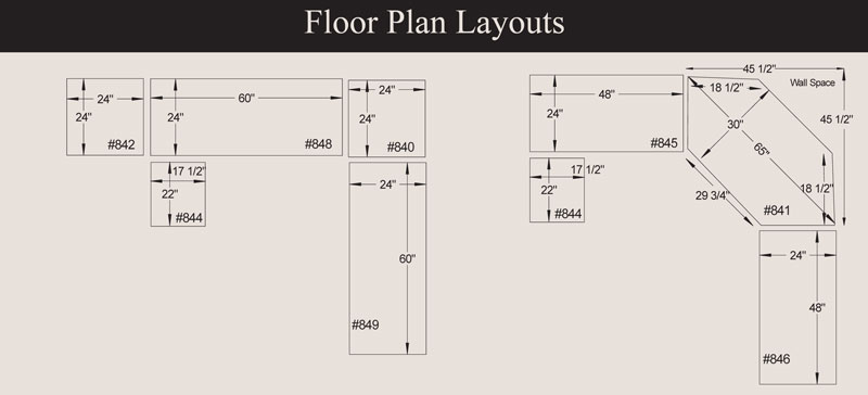 Arlington Modular Office Collection Floor Plan