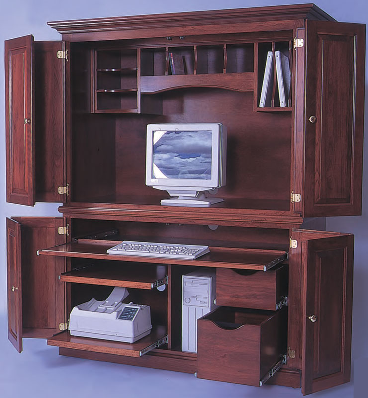 Heirwood 2 Piece Computer Center