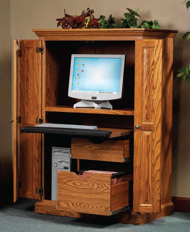Heirwood Computer Armoire