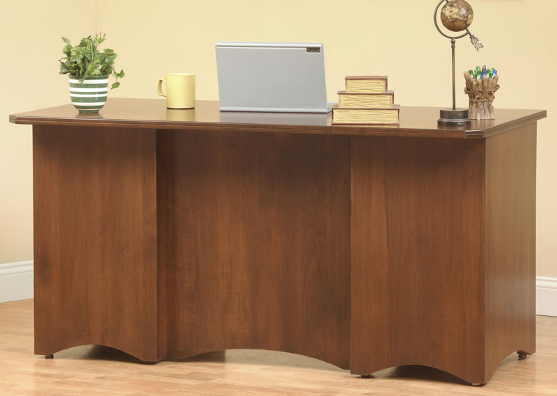 Prairie Mission Office Collection · Finished Back Of Executive Desk