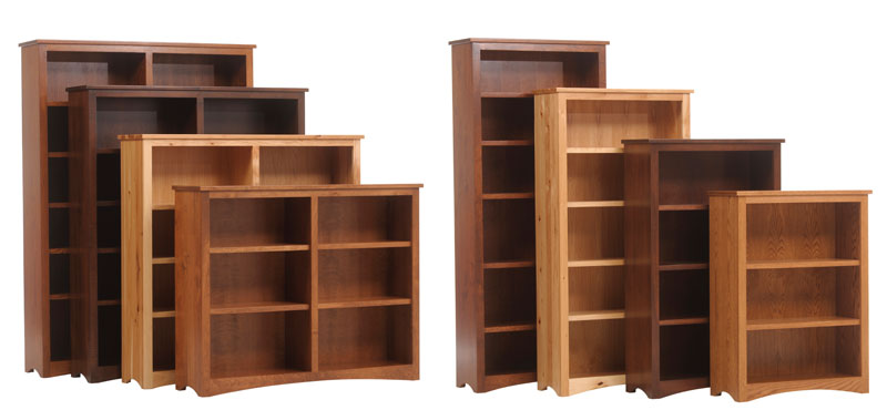 Prairie Mission Executive Bookcases