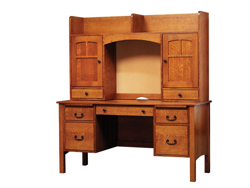 Rivertowne 60 5 Drawer Desk And 2 Door