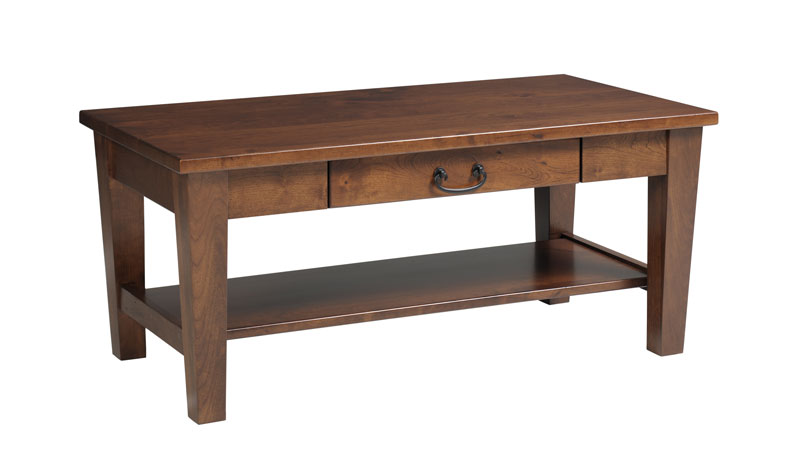 Urban Shaker 514 Coffee Table with Drawer