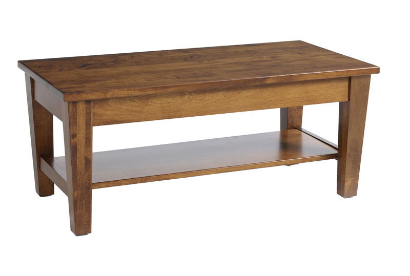Urban Shaker Coffee Table In Solid Hardwood Ohio Hardwood Furniture