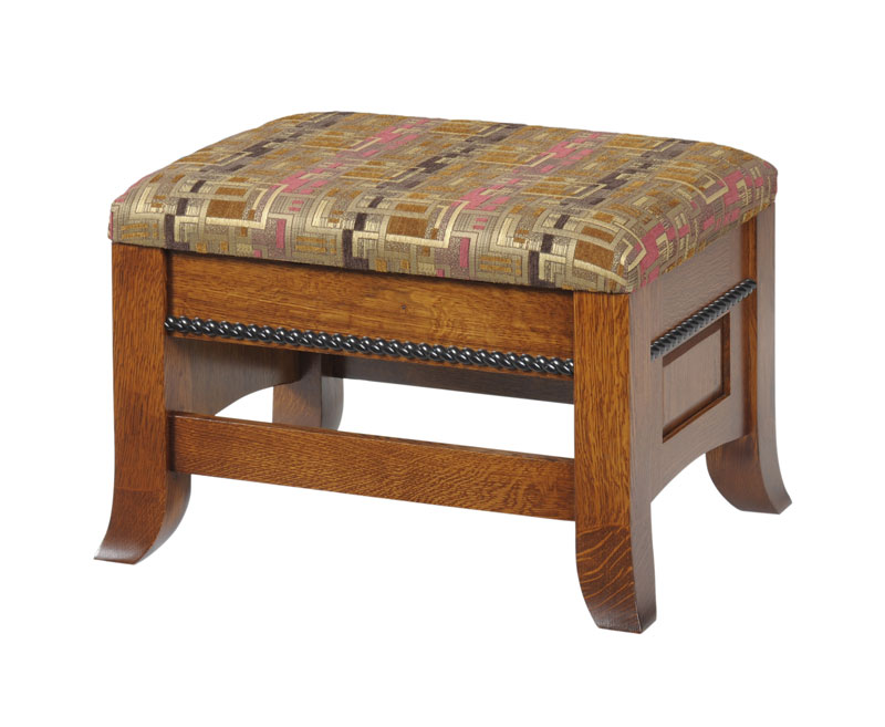 Cranberry Seating Ottoman