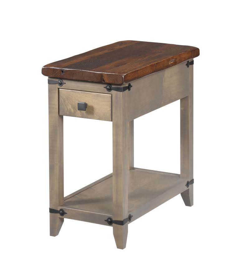 Frontier Chairside Table Ohio Hardwood Furniture
