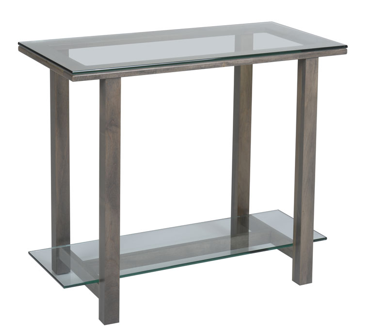 Hilton 296 Glass Top  Sofa Table