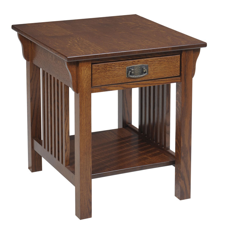 Lexington Mission 612 End Table with Drawer